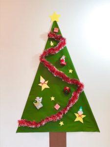 手作りクリスマスツリーを作る手順画像