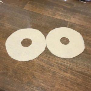 フェルトで作るかわいいドーナツの作り方の手順画像