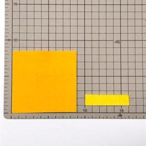 フェルトでリボンを作る作り方の手順画像
