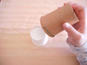 紙コップでロケットを作る作り方の手順画像