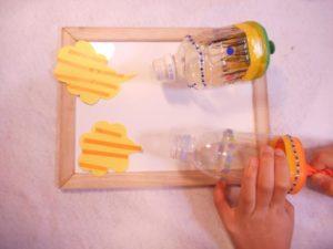 ペットボトルで空気砲を作る作り方の手順画像
