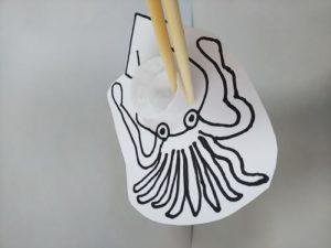 ペットボトルキャップで魚釣りのおもちゃを作る作り方の手順画像
