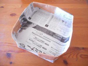 トイレットペーパー芯で作る収納ボックスの作り方の手順画像